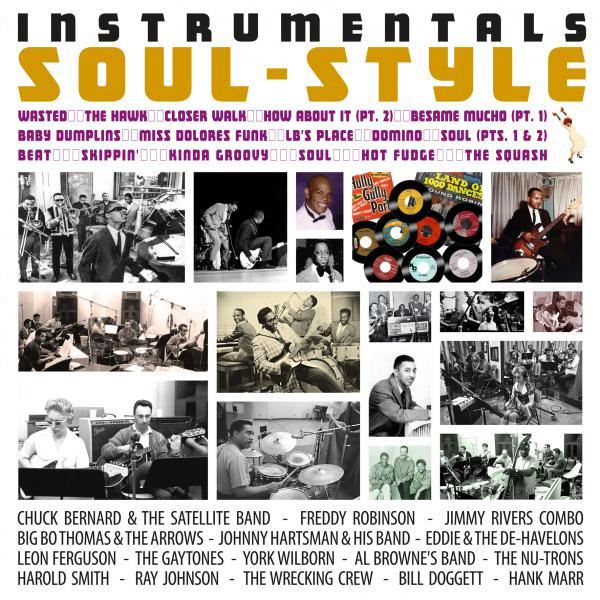 Buy Online Various Artists - Instrumentals Soul-Style Vinyl