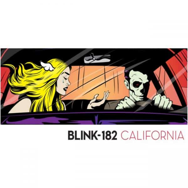 Buy Online Blink 182 - California Silver Vinyl