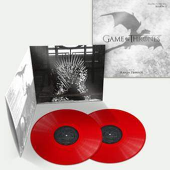 Buy Online Ramin Djawadi - Game Of Thrones Season Three Blood Red Double Vinyl