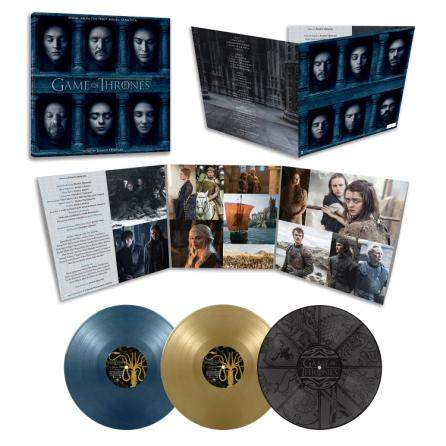 Buy Online Ramin Djawadi - Game Of Thrones Season 6 OST Coloured Triple Vinyl
