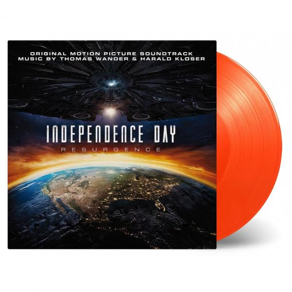 Buy Online Various Artists - Independence Day: Resurgence OST Orange Vinyl