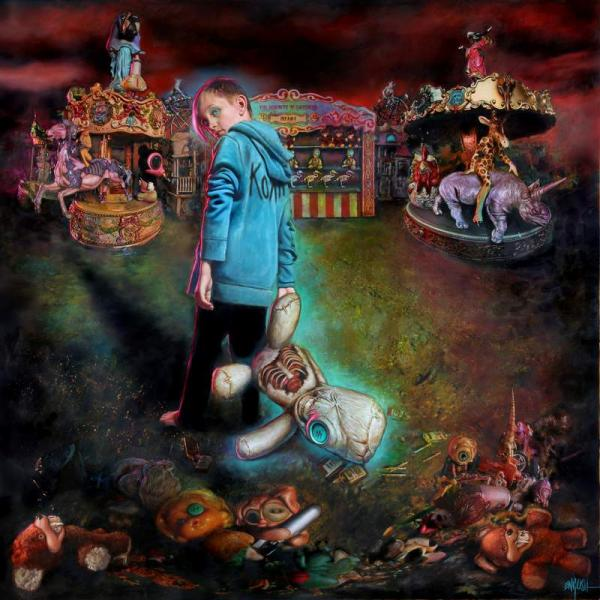 Buy Online Korn - The Serenity Of Suffering Blue Vinyl