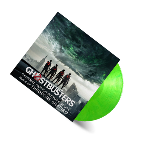 Buy Online Theodore Shapiro - Ghostbusters 2016 OST Slimer Green