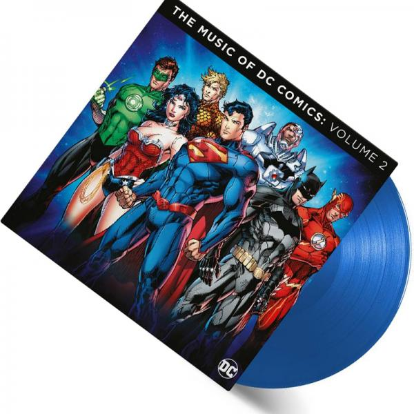Buy Online Various Artists - The Music Of DC Comics - Vol 2 Double Coloured Vinyl