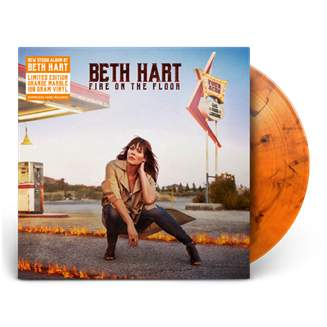 Buy Online Beth Hart  - Fire On The Floor Orange Marble Vinyl