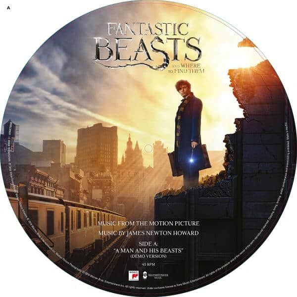 Buy Online Various Artists - Fantastic Beasts And Where To Find Them Vinyl Picture Disc