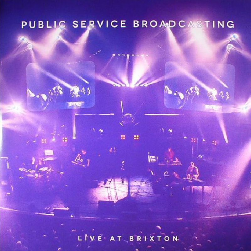 Buy Online Public Service Broadcasting - Live At Brixton Exclusive Double Blue Vinyl + DVD