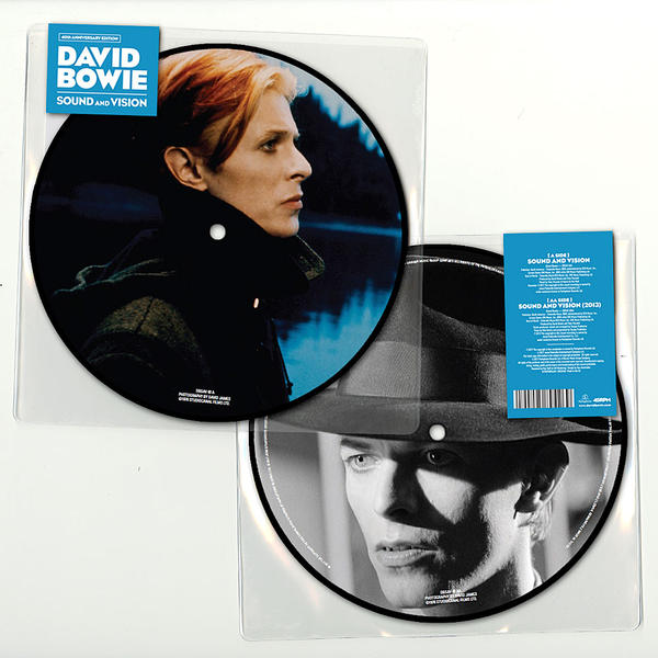 Buy Online David Bowie - Sounds & Vision 40th Anniversary 7-Inch Vinyl Picture Disc