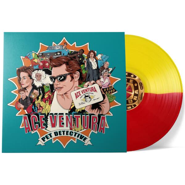 Buy Online Ace Ventura - Pet Detective Red & Yellow Colour Import Vinyl