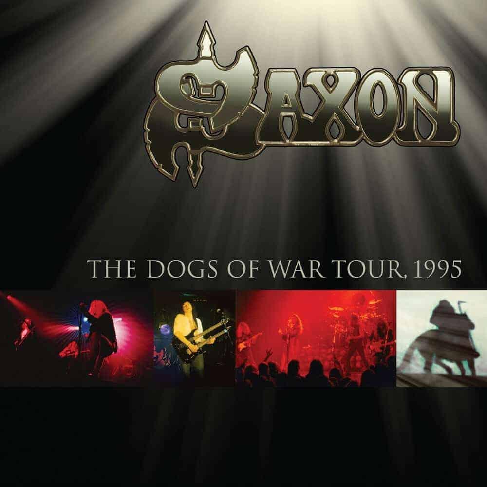 Buy Online Saxon - Dogs Of War Tour 1995 Gold