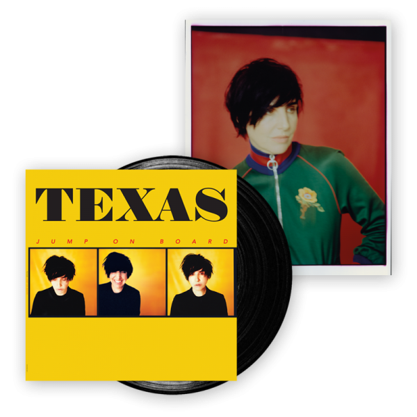 Buy Online Texas - Jump On Board Vinyl W/Signed A4 Photograph (Green Jacket)