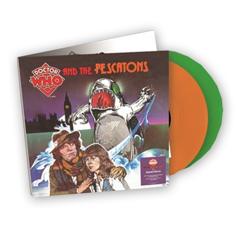 Buy Online Dr Who - Dr Who & The Pescatons / Dr Who Sound Affects Green Orange Double Vinyl