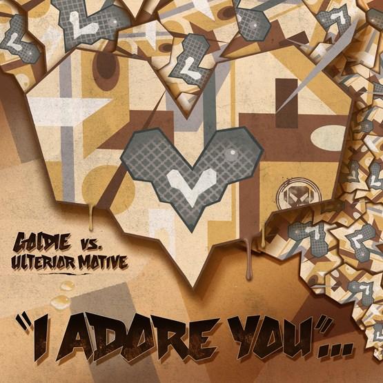 Buy Online Goldie vs. Ulterior Motive  - I Adore You Vinyl