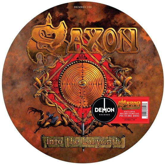 Buy Online Saxon - Into The Labyrinth