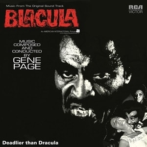 Buy Online Gene Page - Blacula OST Red Vinyl
