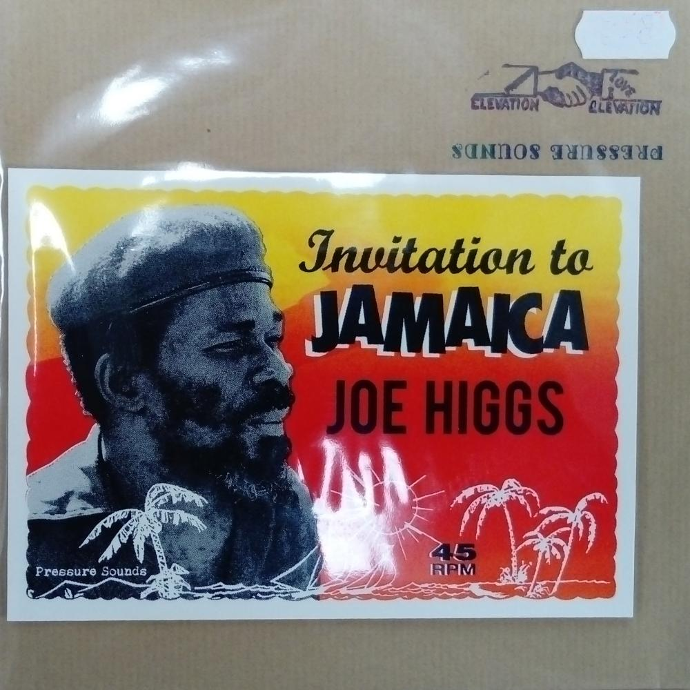 Buy Online Joe Higgs - Invitation To Jamaica 7-Inch Vinyl