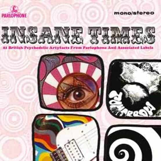 Buy Online Various Artists - Insane Times - 21 British Psychedelic Artyfacts Double Vinyl