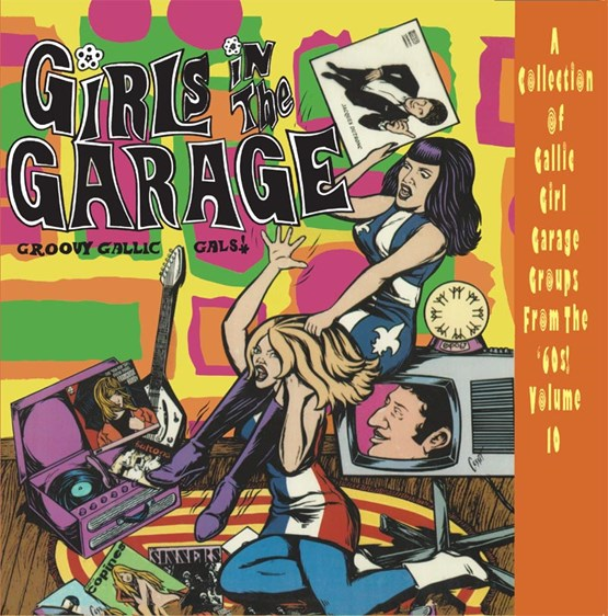 Buy Online Various Artists - Girls In The Garage Volume 10 Coloured Vinyl
