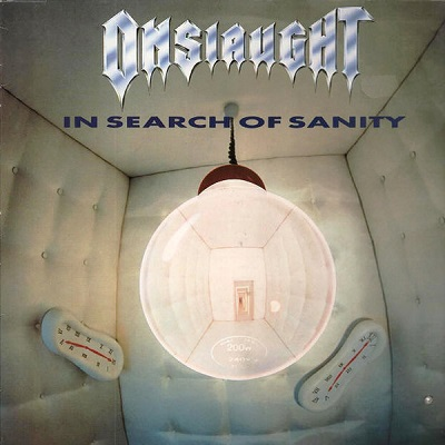 Buy Online Onslaught  - In Search Of Sanity Double Clear Vinyl