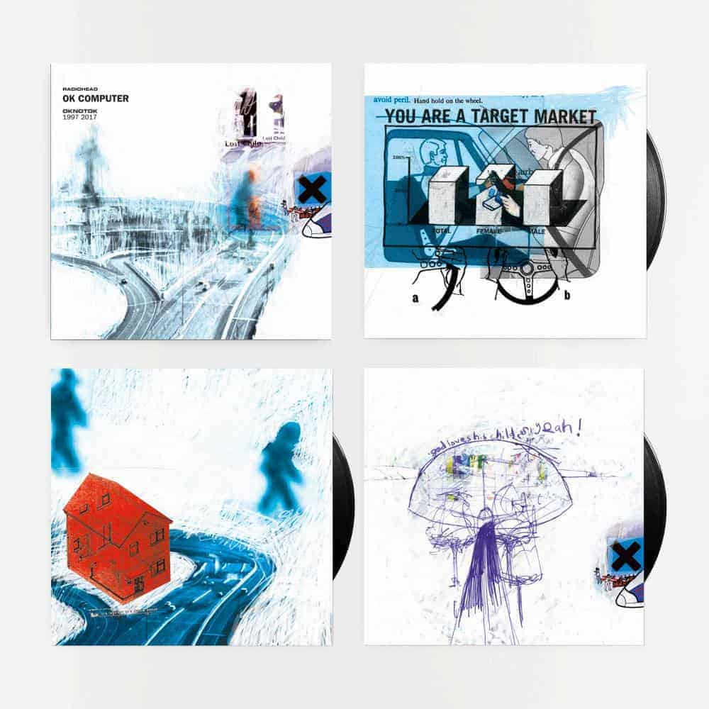 Buy Online Radiohead - OK Computer OKNOTOK 1997-2017 Coloured Triple Vinyl