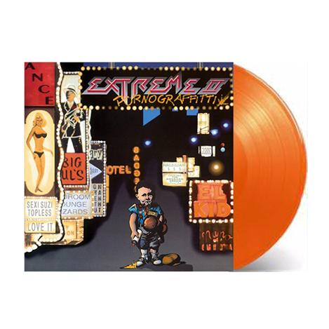 Buy Online Extreme - Pornograffitti Orange Vinyl