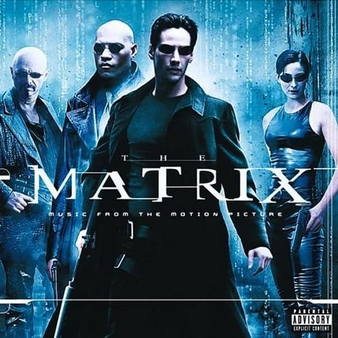 Buy Online Various Artists - The Matrix: Music From The Motion Picture Double Vinyl (Limited Black & Blue Marble Vinyl Edition)