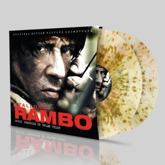 Buy Online Brian Tyler - Rambo OST Camouflage Double Vinyl