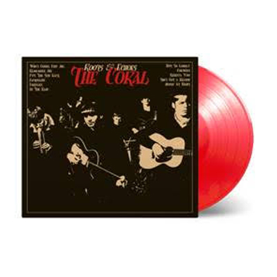 Buy Online The Coral - Roots & Echoes Red Vinyl (Limited Edition)