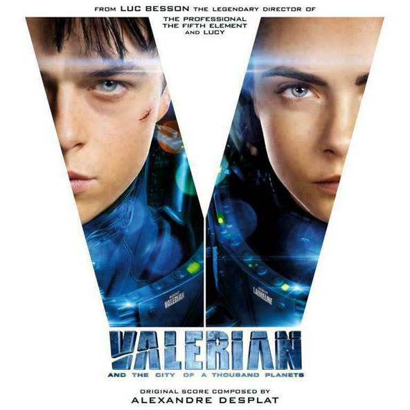 Buy Online Various Artists - Valerian And The City Of A Thousand Planets OST Double Blue & White Vinyl