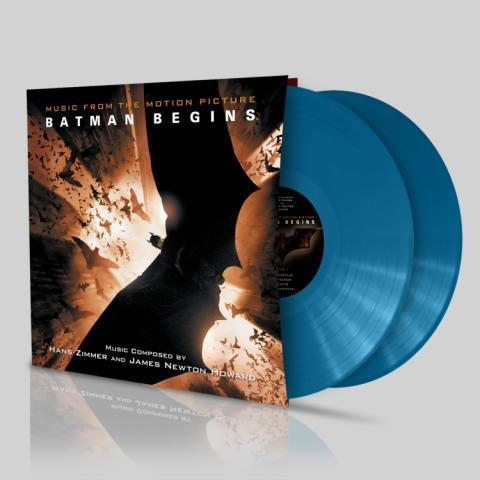 Buy Online Hans Zimmer - Batman Begins Limited Edition Blue Double Vinyl