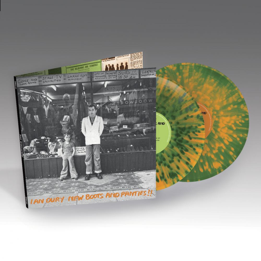 Buy Online Ian Dury - New Boots & Panties Deluxe Coloured Double Vinyl