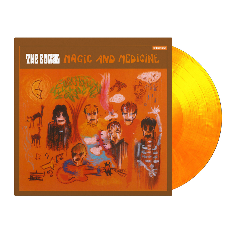 Buy Online The Coral - Magic And Medicine Flaming Colour Vinyl