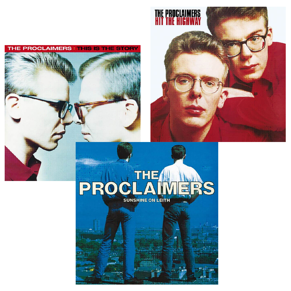 Buy Online The Proclaimers - The Proclaimers Vinyl Bundle