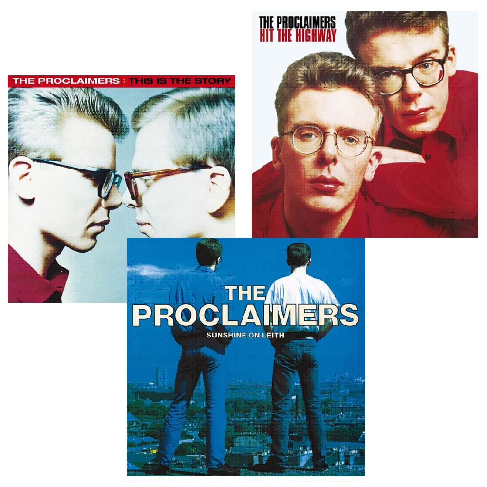 Buy Online The Vinyl Store - The Proclaimers Vinyl Bundle