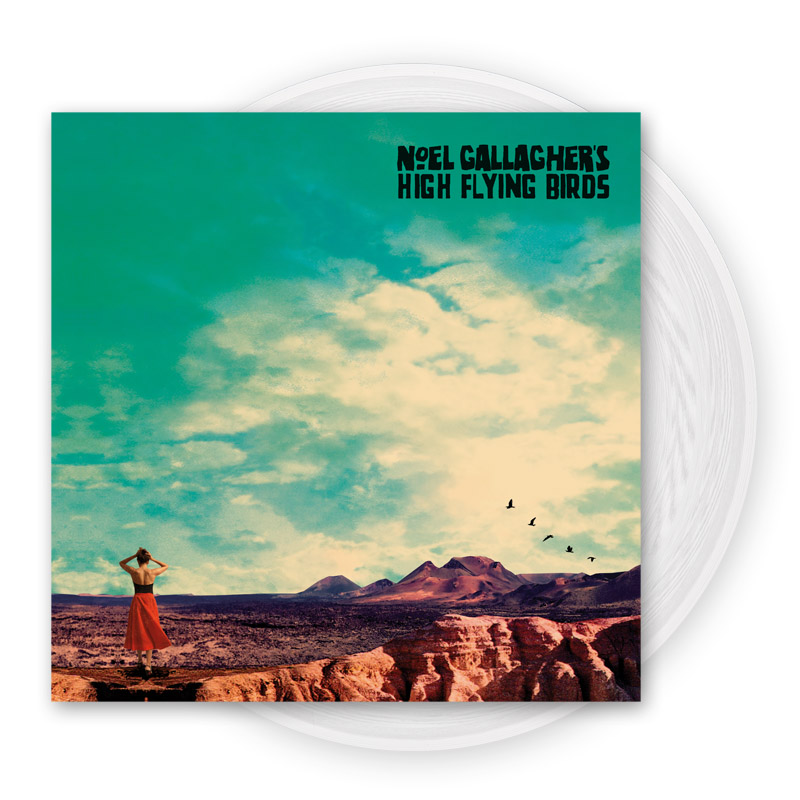 Buy Online Noel Gallagher's High Flying Birds - Who Built The Moon? White Vinyl