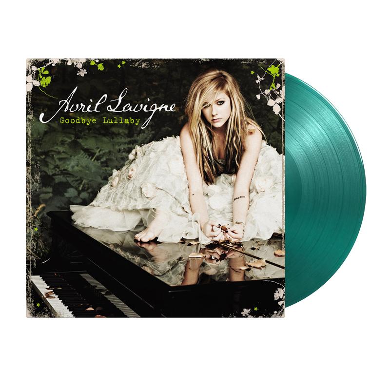 Buy Online Avril Lavigne - Goodbye Lullaby Transparent Green Vinyl