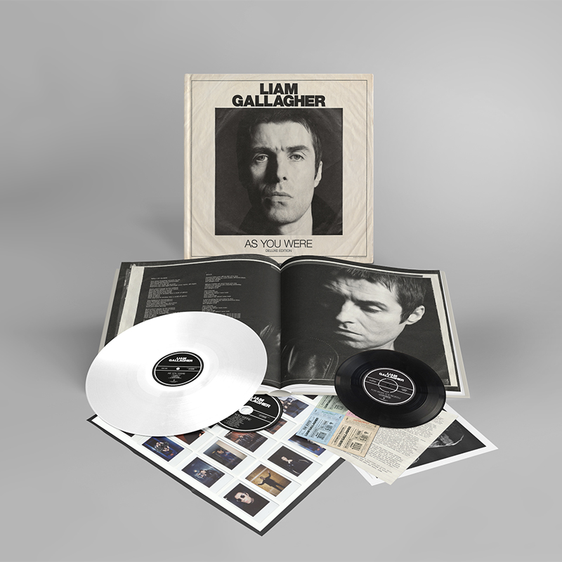 Buy Online Liam Gallagher - As You Were (Special Deluxe Vinyl LP Edition Set)
