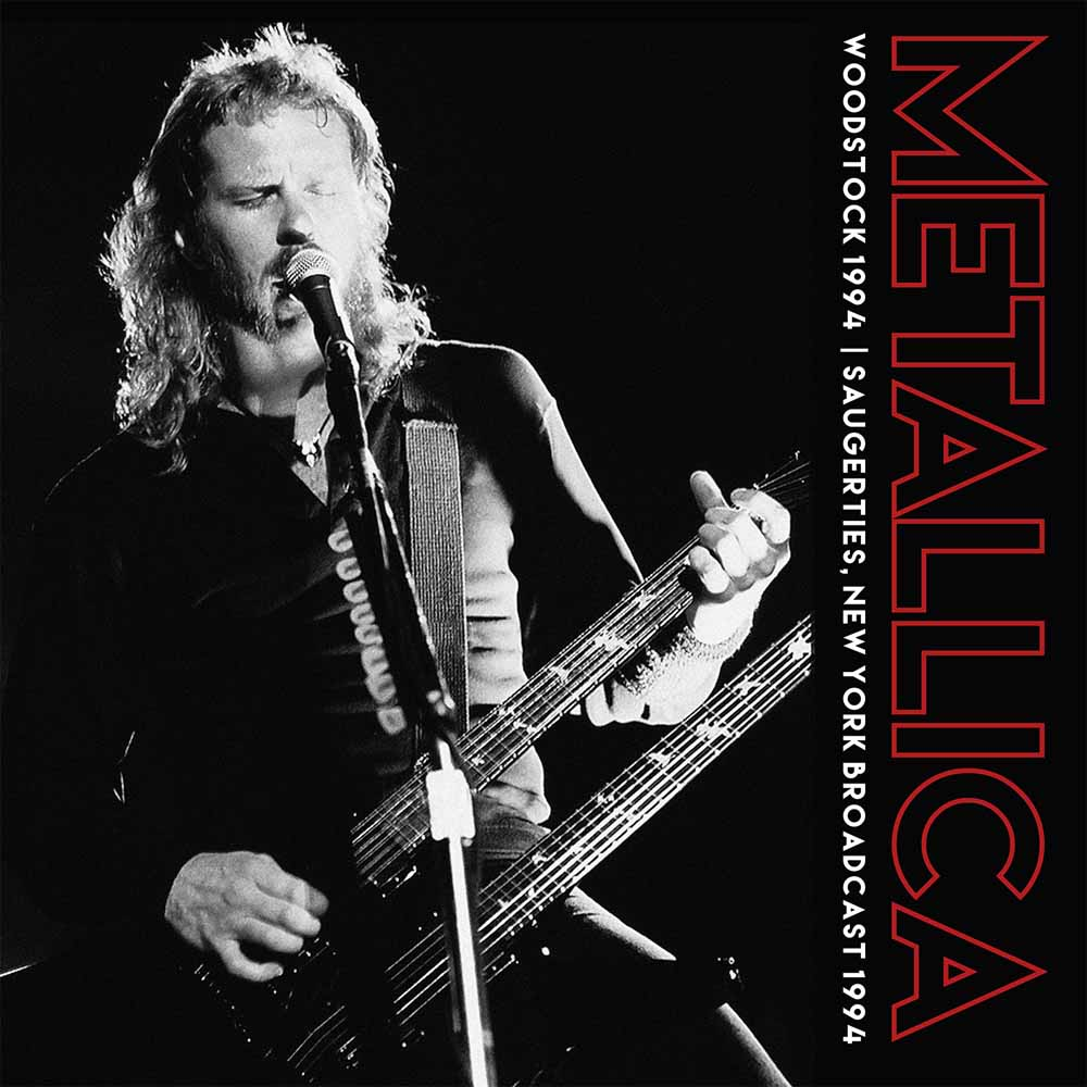 Buy Online Metallica - Woodstock 1994 Double Clear Vinyl