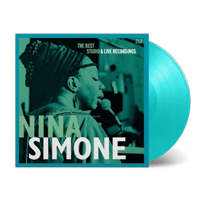 Buy Online Nina Simone - Best Studio & Live Recordings Double Turquoise Vinyl