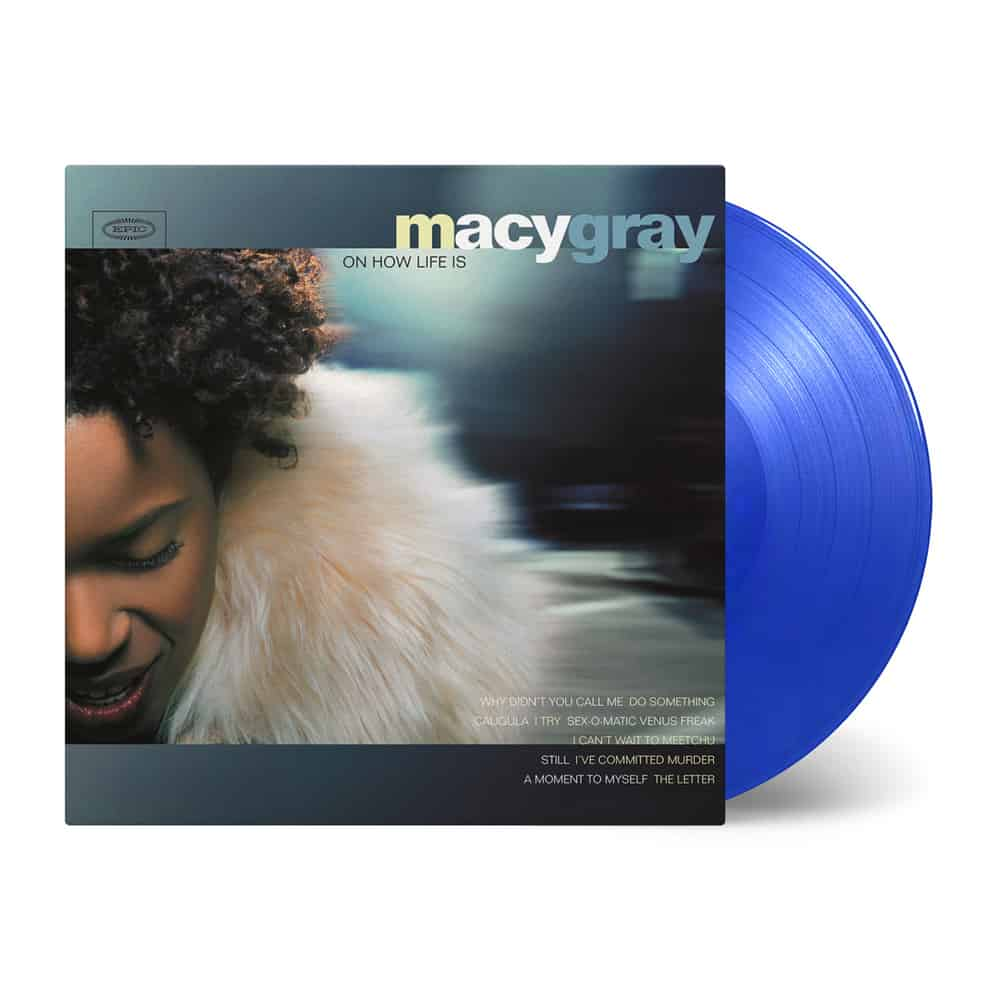 Buy Online Macy Gray - On How Life Is Transparent Blue