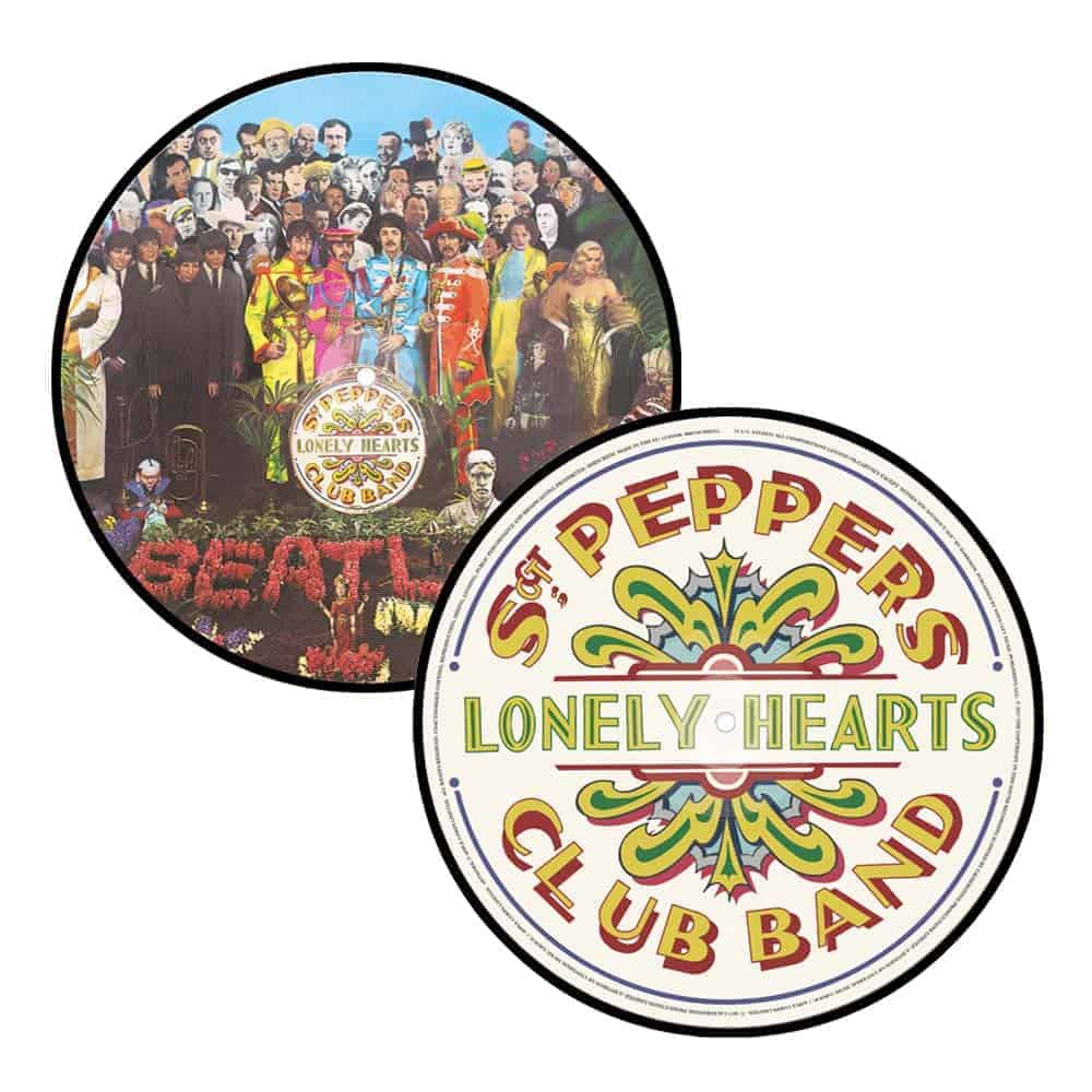 Buy Online The Beatles - Sgt. Pepper's Lonely Hearts Club Band Picture Disc