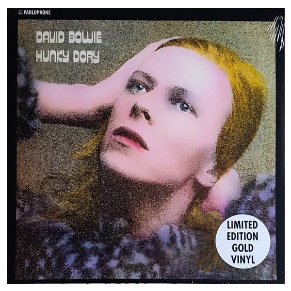 Buy Online David Bowie - Hunky Dory Gold Vinyl
