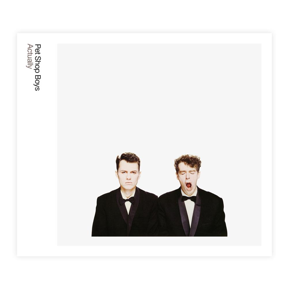 Buy Online Pet Shop Boys - Actually Vinyl (Heavyweight)
