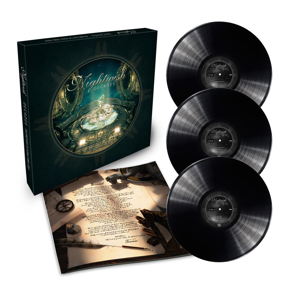 Buy Online Nightwish - Decades Triple Vinyl Boxset w/ 24 Page Booklet