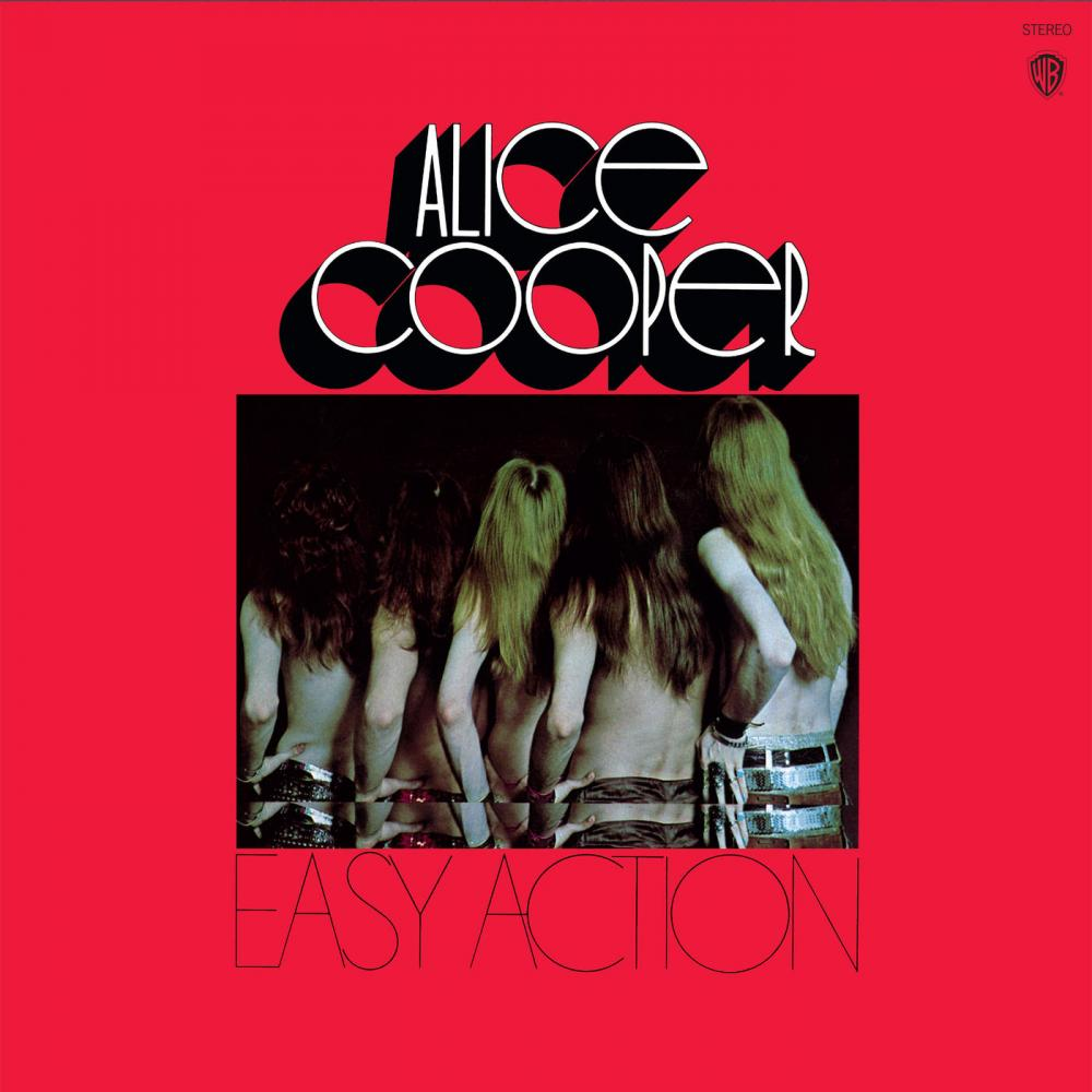 Buy Online Alice Cooper - Easy Action Gold Vinyl