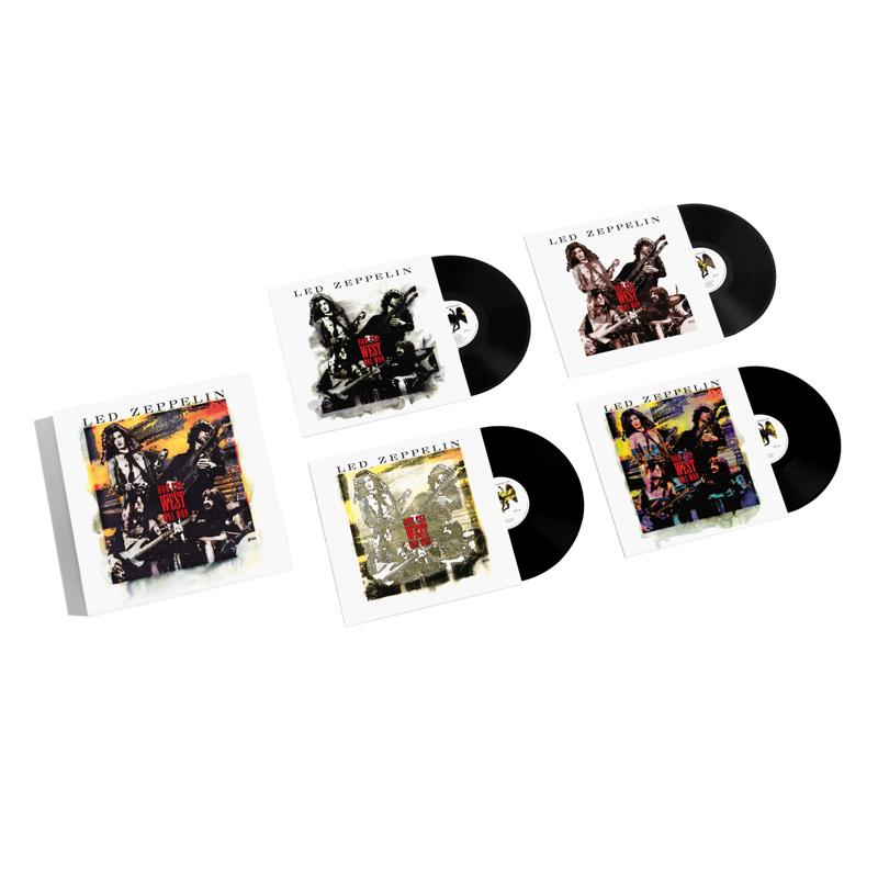 Buy Online Led Zeppelin  - How The West Was Won 4-Disc Vinyl