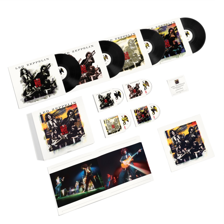 Buy Online Led Zeppelin  - How The West Was Won Super Deluxe Boxed Set