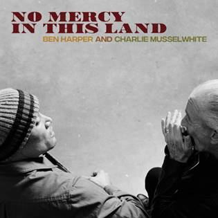 Buy Online Ben Harper & Charlie Musselwhite - No Mercy In This Land Blue Vinyl