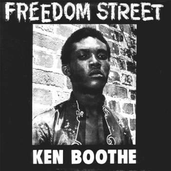 Buy Online Ken Boothe - Freedom Street Asphalt Colour Vinyl