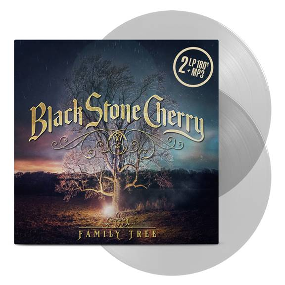 Buy Online Black Stone Cherry - Family Tree Double Clear Vinyl + Signed Booklet